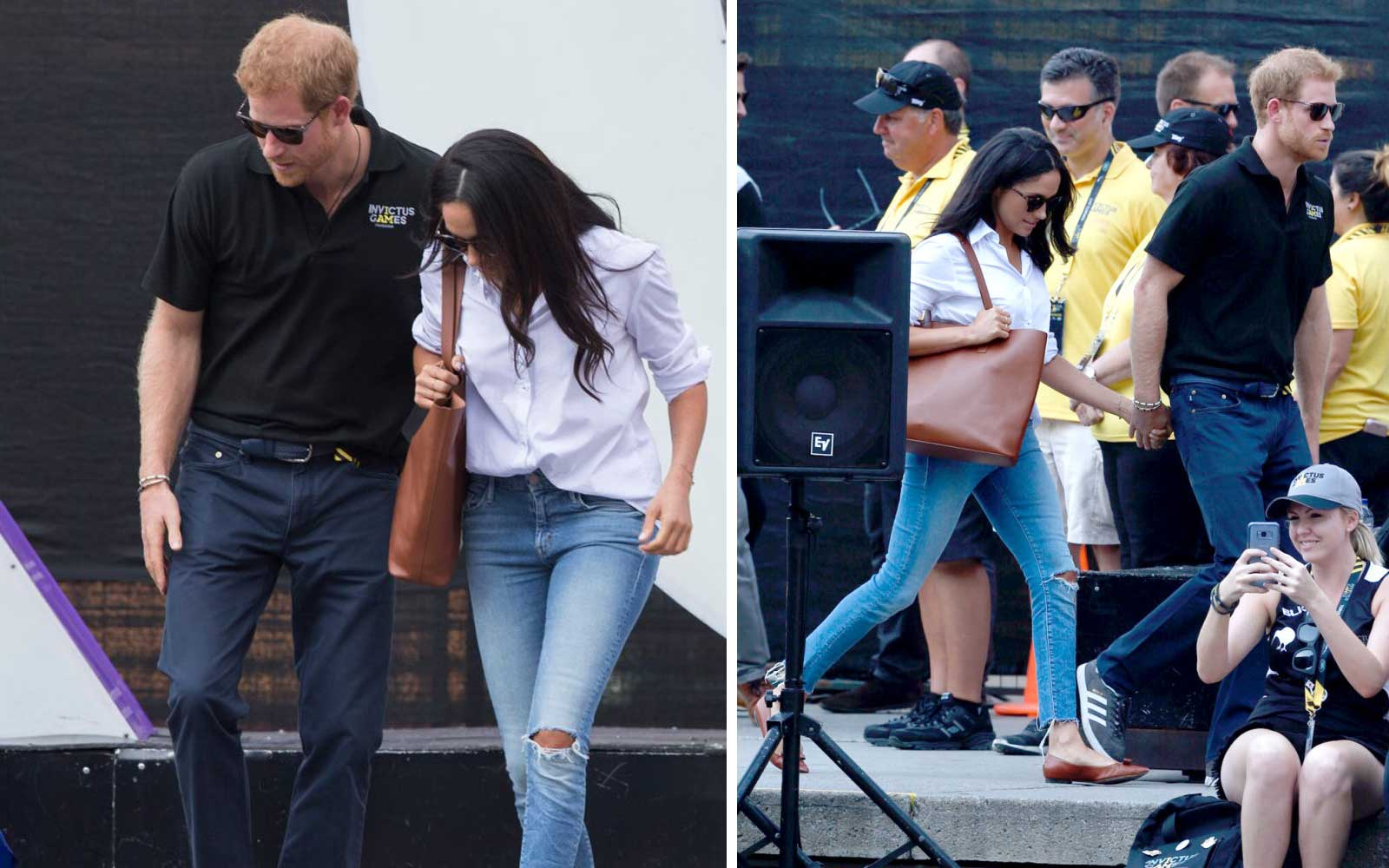 Meghan Markle's Iconic Ripped Jeans Are Finally Back in Stock