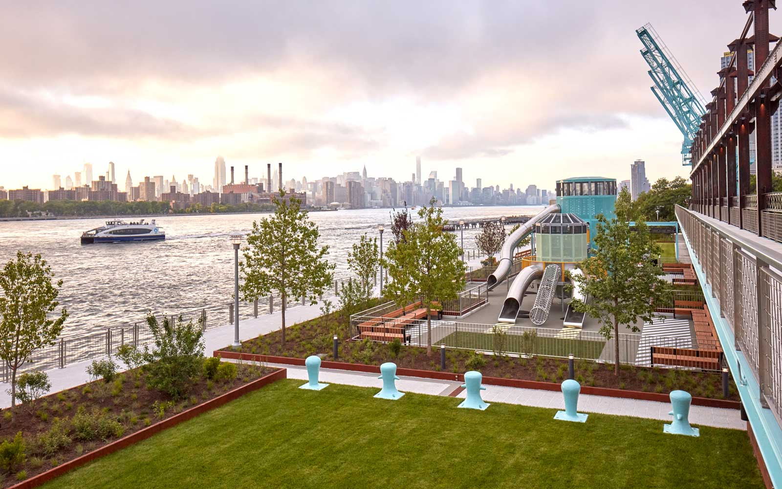 Brooklyn's Sweetest Sensation Is a New Park on the Site of a Former Sugar Factory