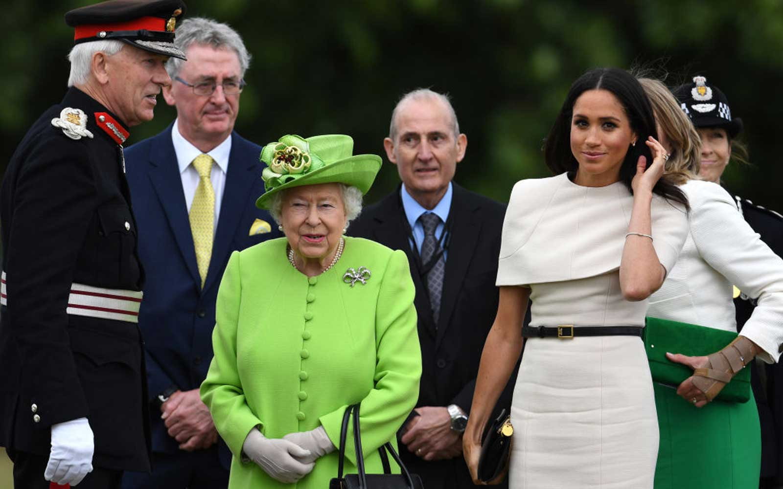 Queen Elizabeth Banned Meghan Markle From Eating This in Public (Video)