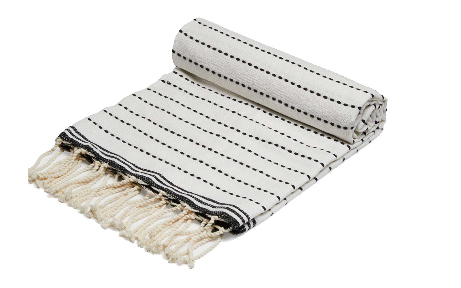 Vince Beach Capsule Collection Fashion Fouta Stitch Towel