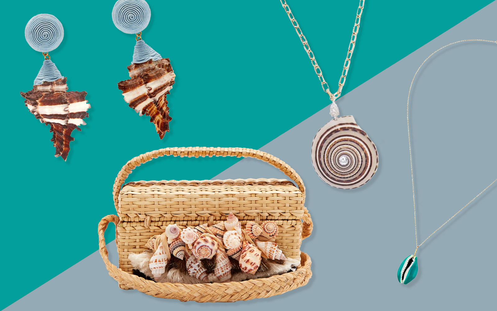 The Best Modern Seashell Jewelry and Accessories