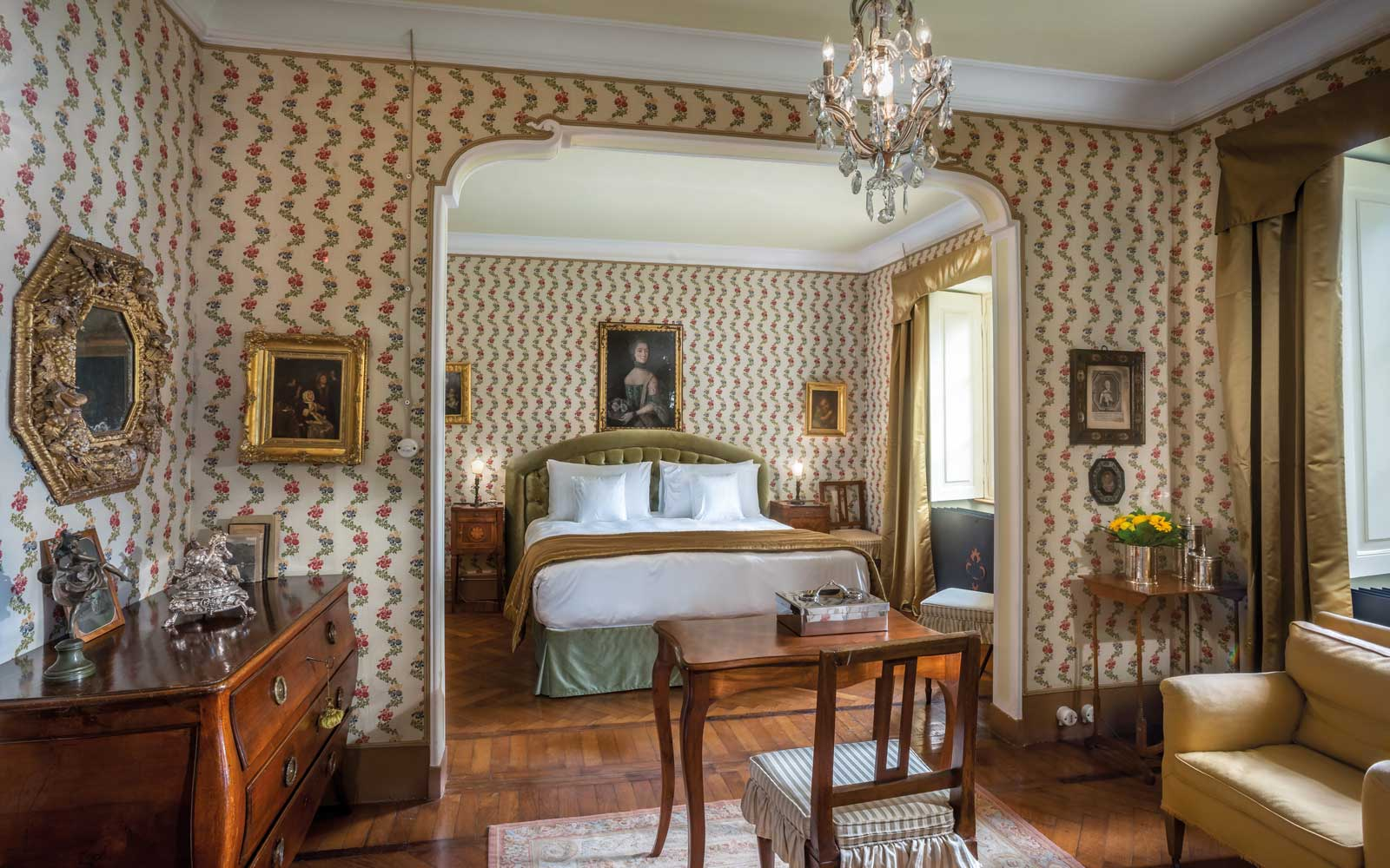 Andrea Suite at the Villa Sola Cabiati, Lake Como, Italy