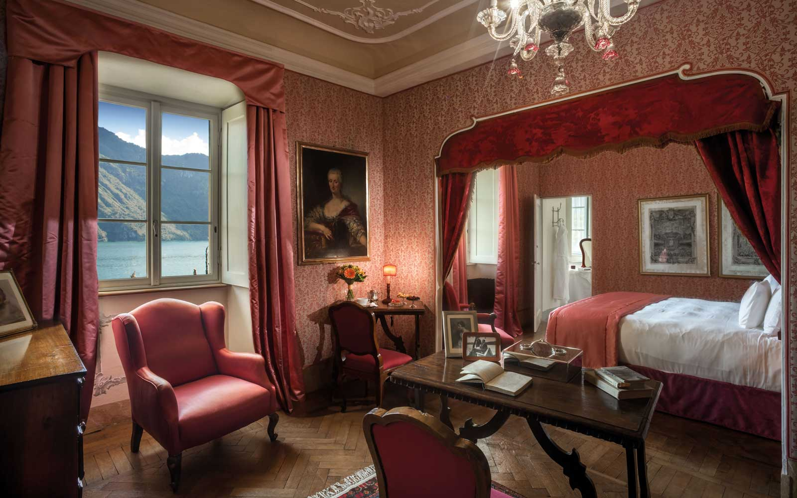 Nora Suite at the Villa Sola Cabiati, Lake Como, Italy