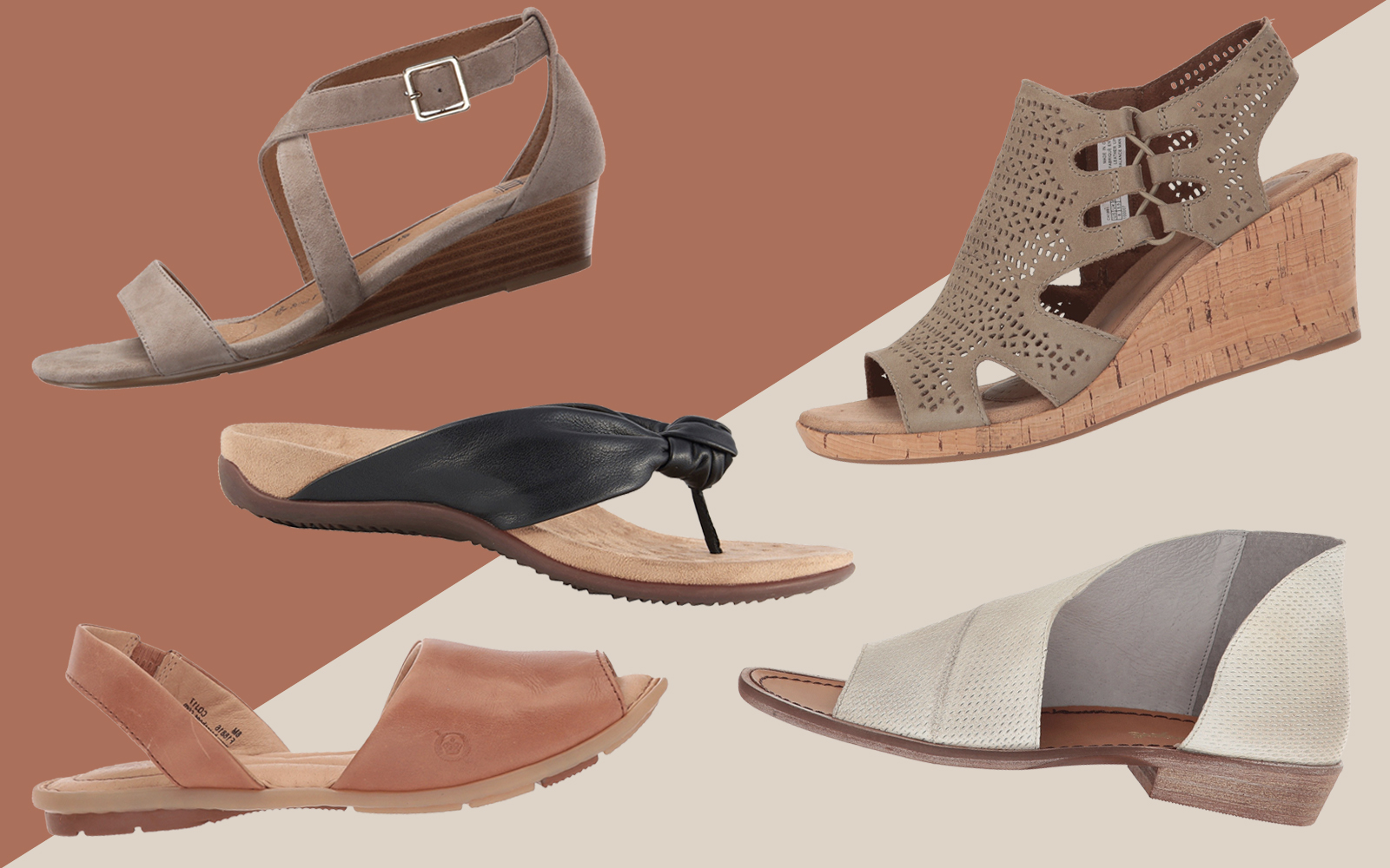 5 Summer Sandals That Are As Comfy As They Are Stylish
