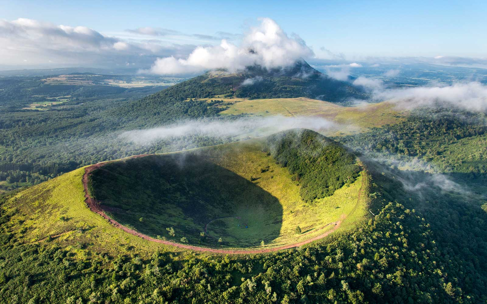France's Green Volcanoes Just Received UNESCO World Heritage Status