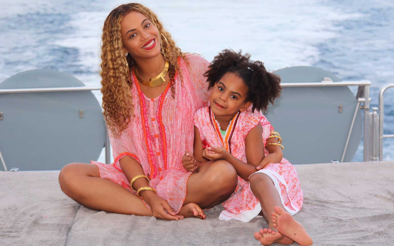 Image result for Beyonce and Jay Z just shared Rare vacation photos with their adorable twins
