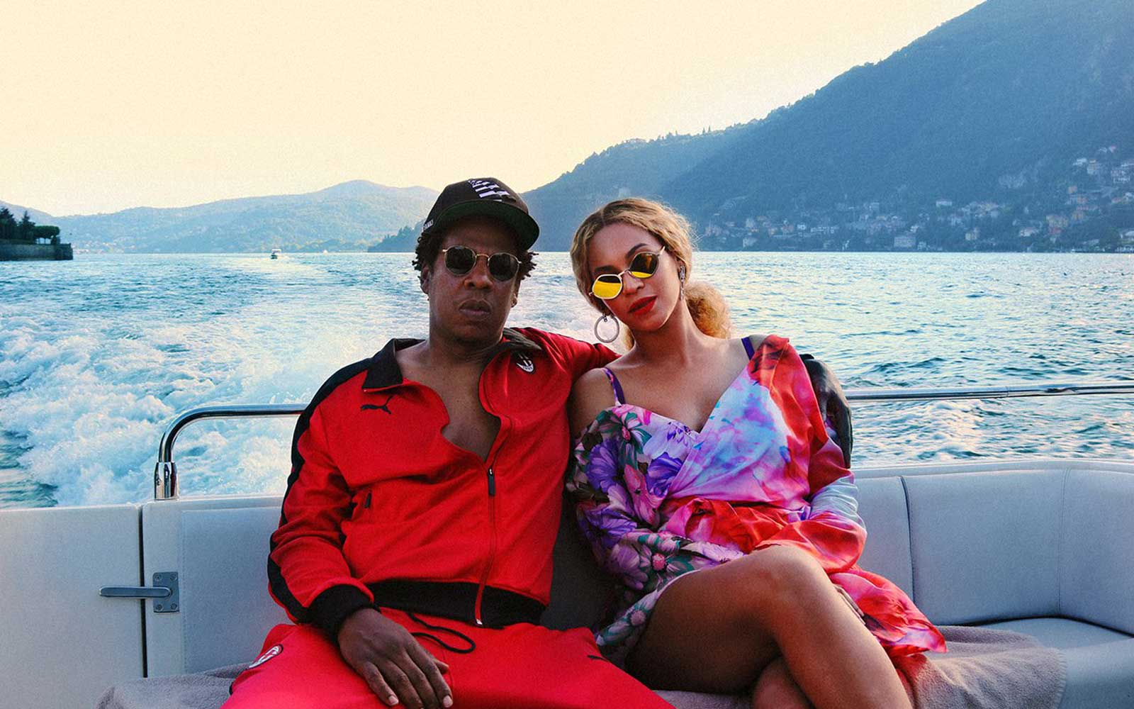 Beyoncé and Jay-Z Just Shared Rare Vacation Photos With Their Adorable Twins
