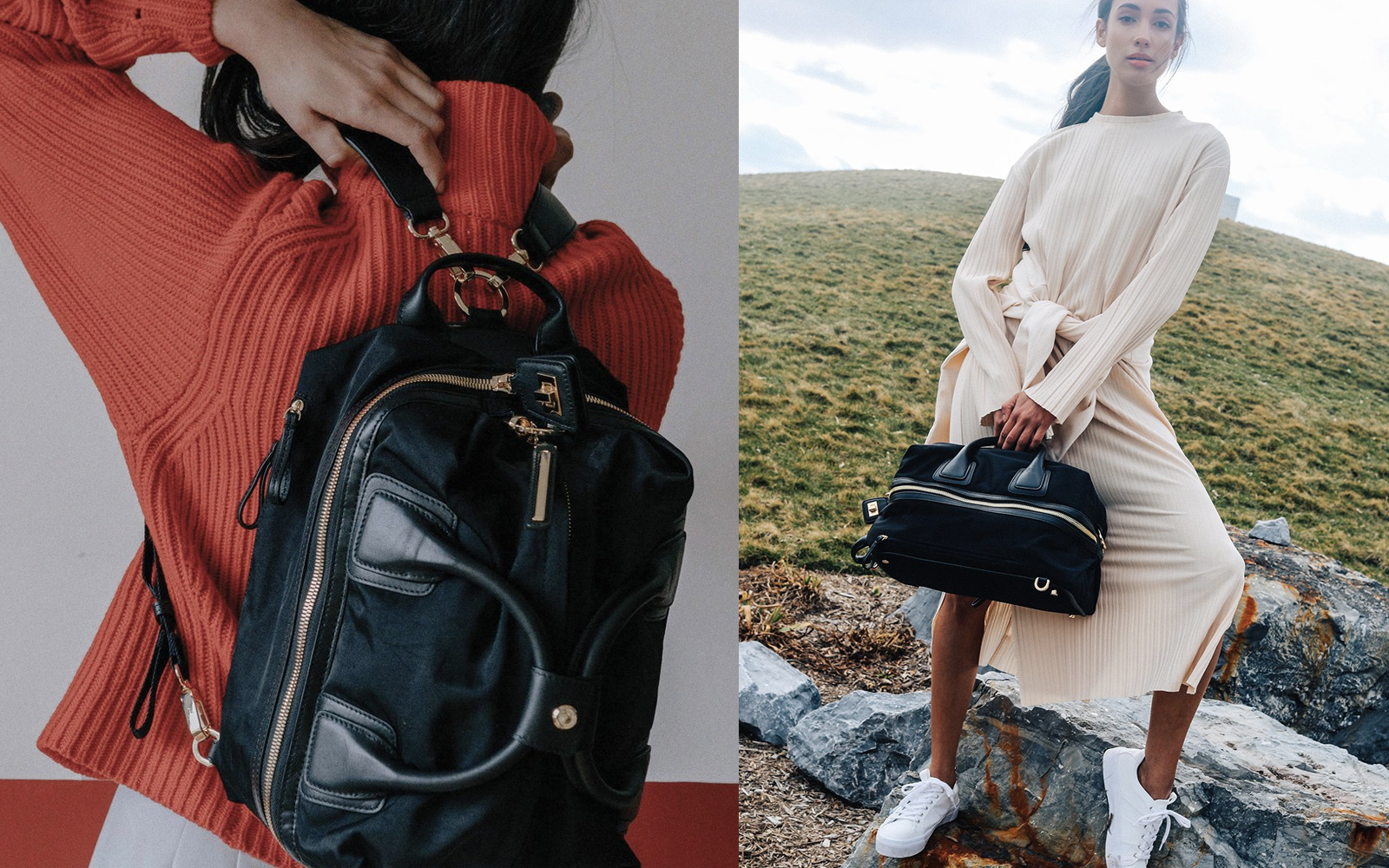 This Genius Carry-on Bag Is a Duffel, Backpack, and Cross-body All in One