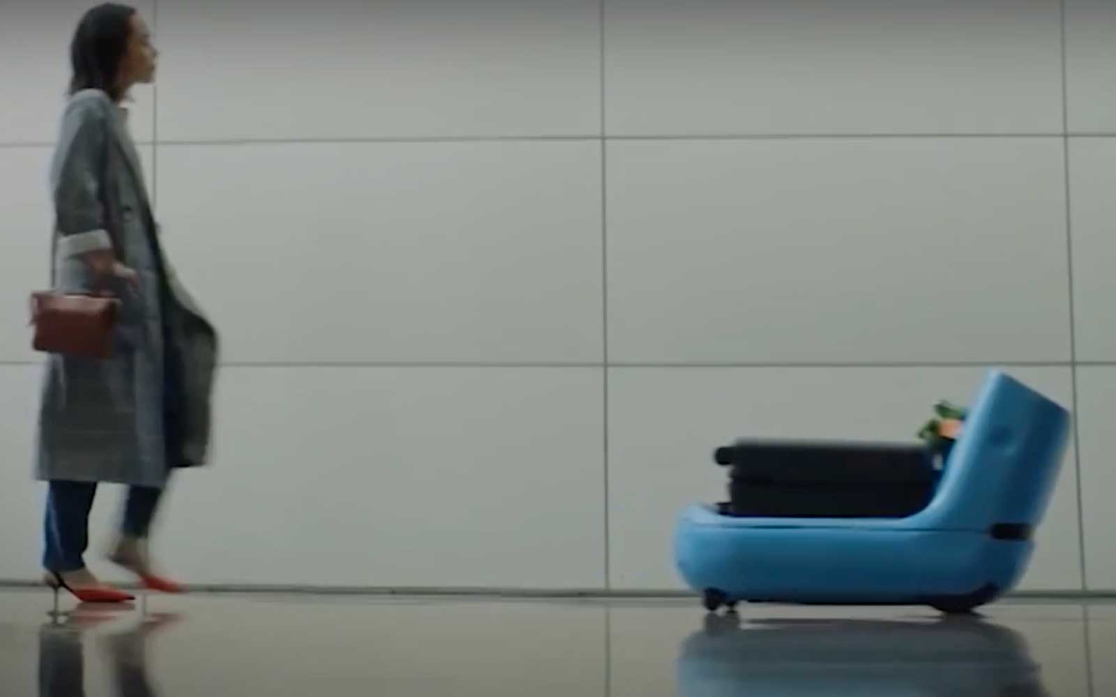 Care-E robot from KLM Royal Dutch Airlines