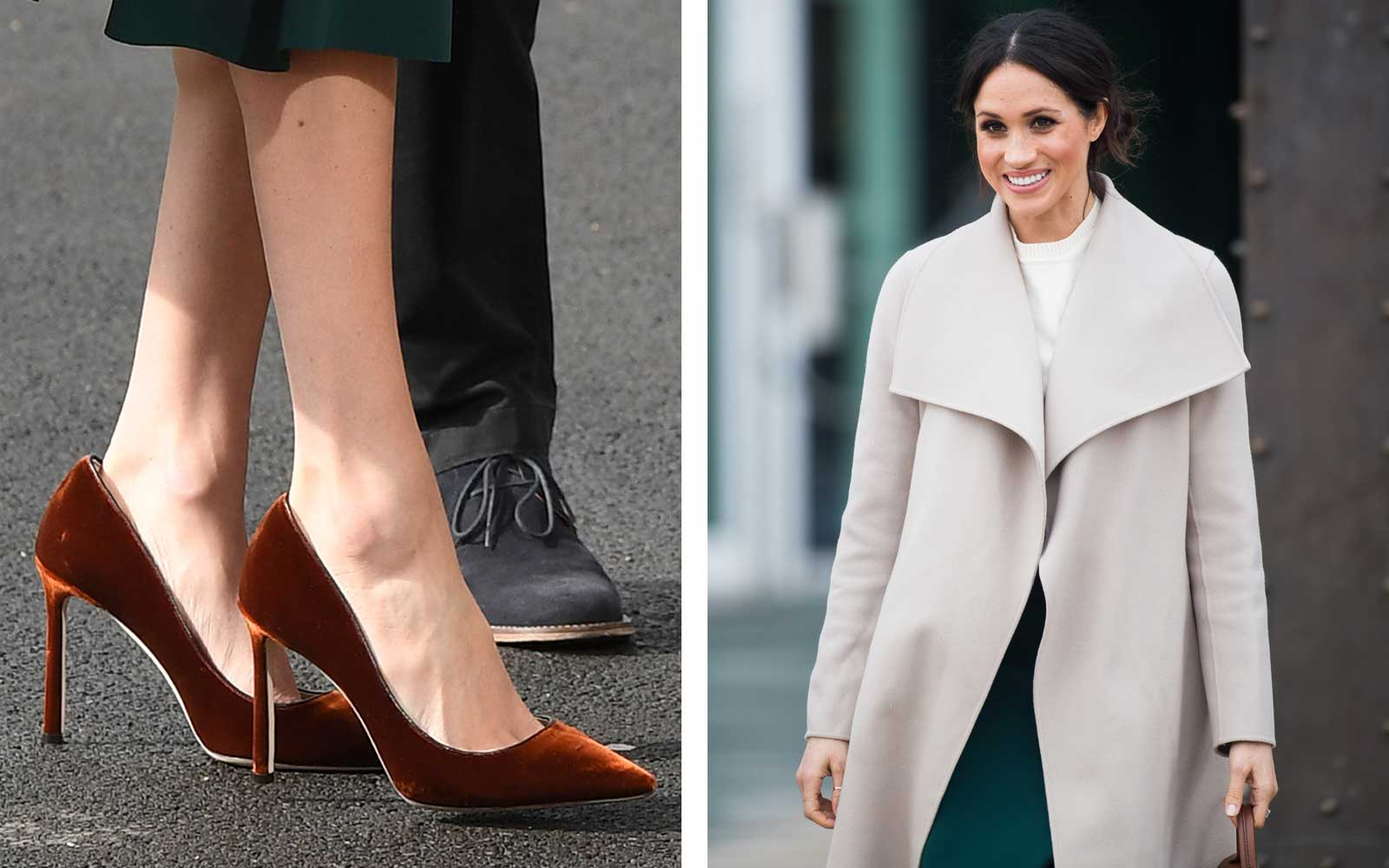 Meghan Markle and her shoes