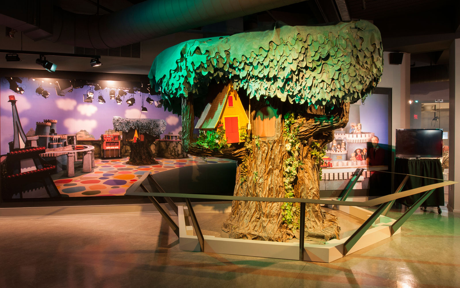 "The ""Mister Rogers' Neighborhood"" exhibit at the Senator John Heinz History Center."