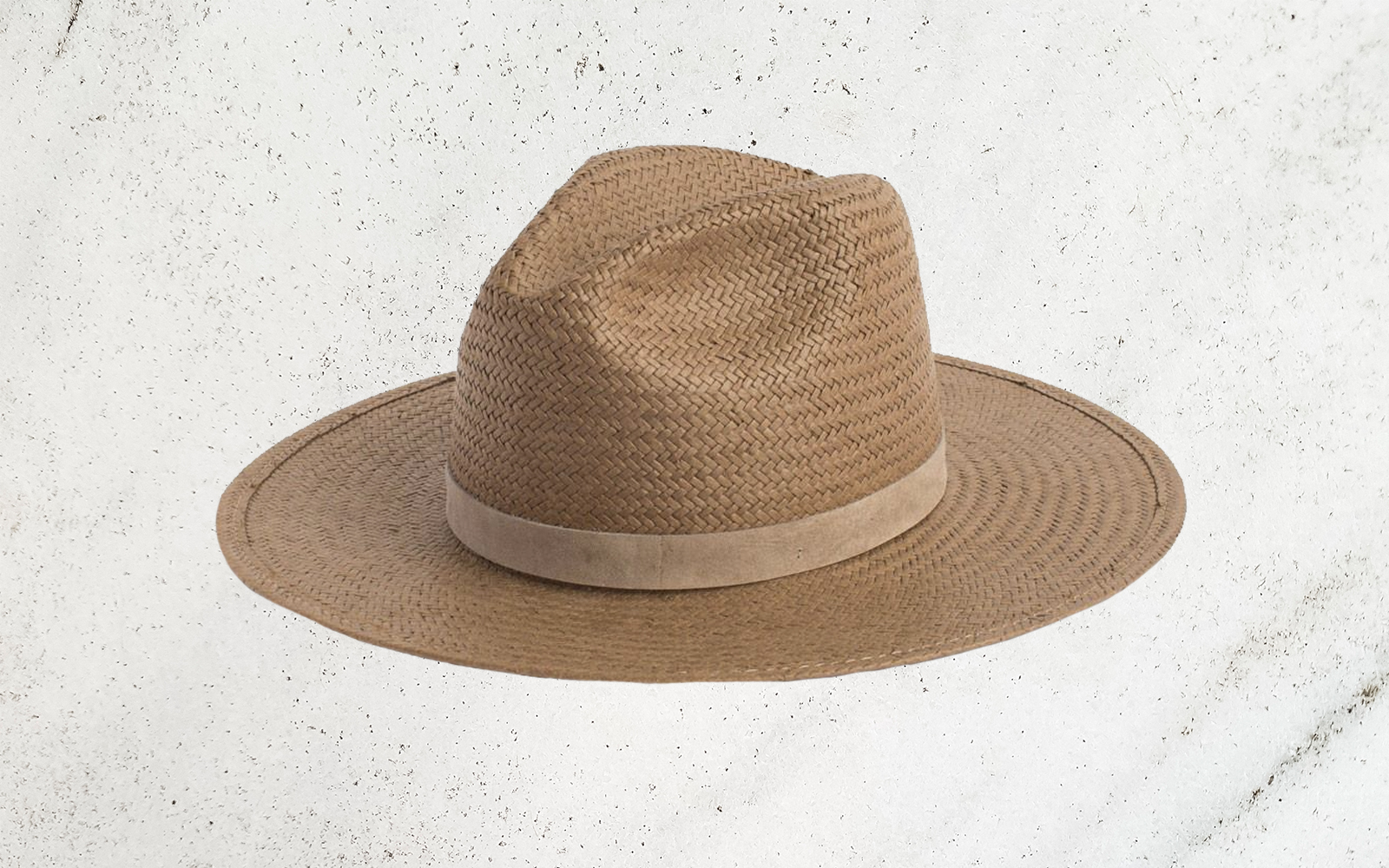 This Packable Straw Hat Won't Get Ruined If You Stuff It Into Your Carry-on