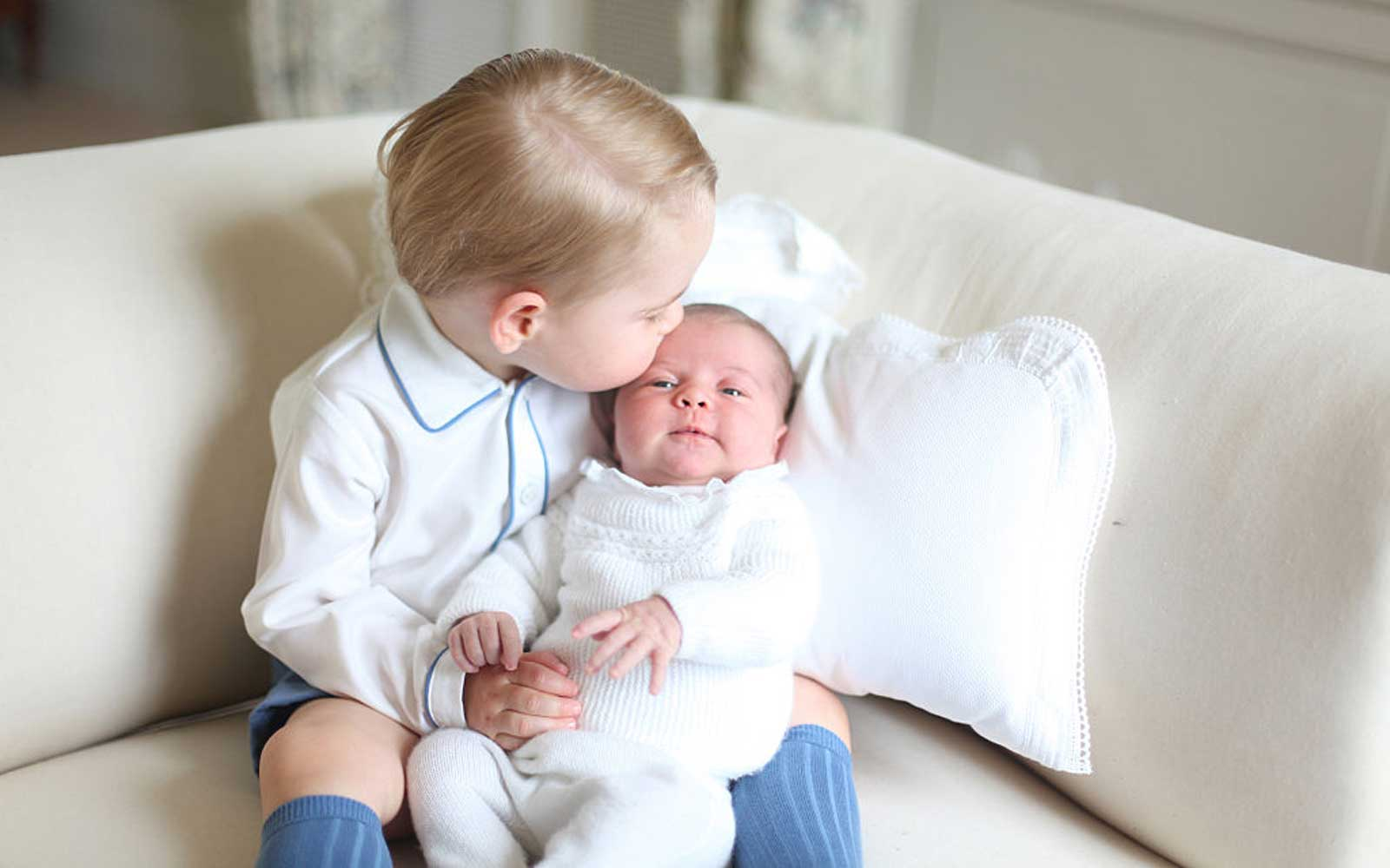 Prince George Is the Cutest Big Brother — Here Are the Photos to Prove It
