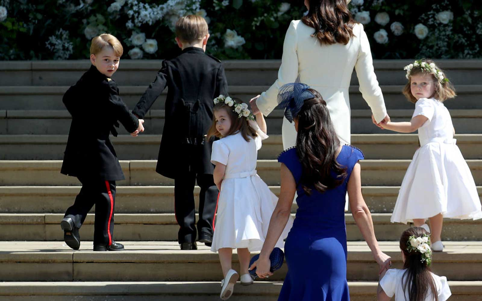 Prince George and Princess Charlotte Will Be Reprising Their Royal Wedding Roles in October (Video)