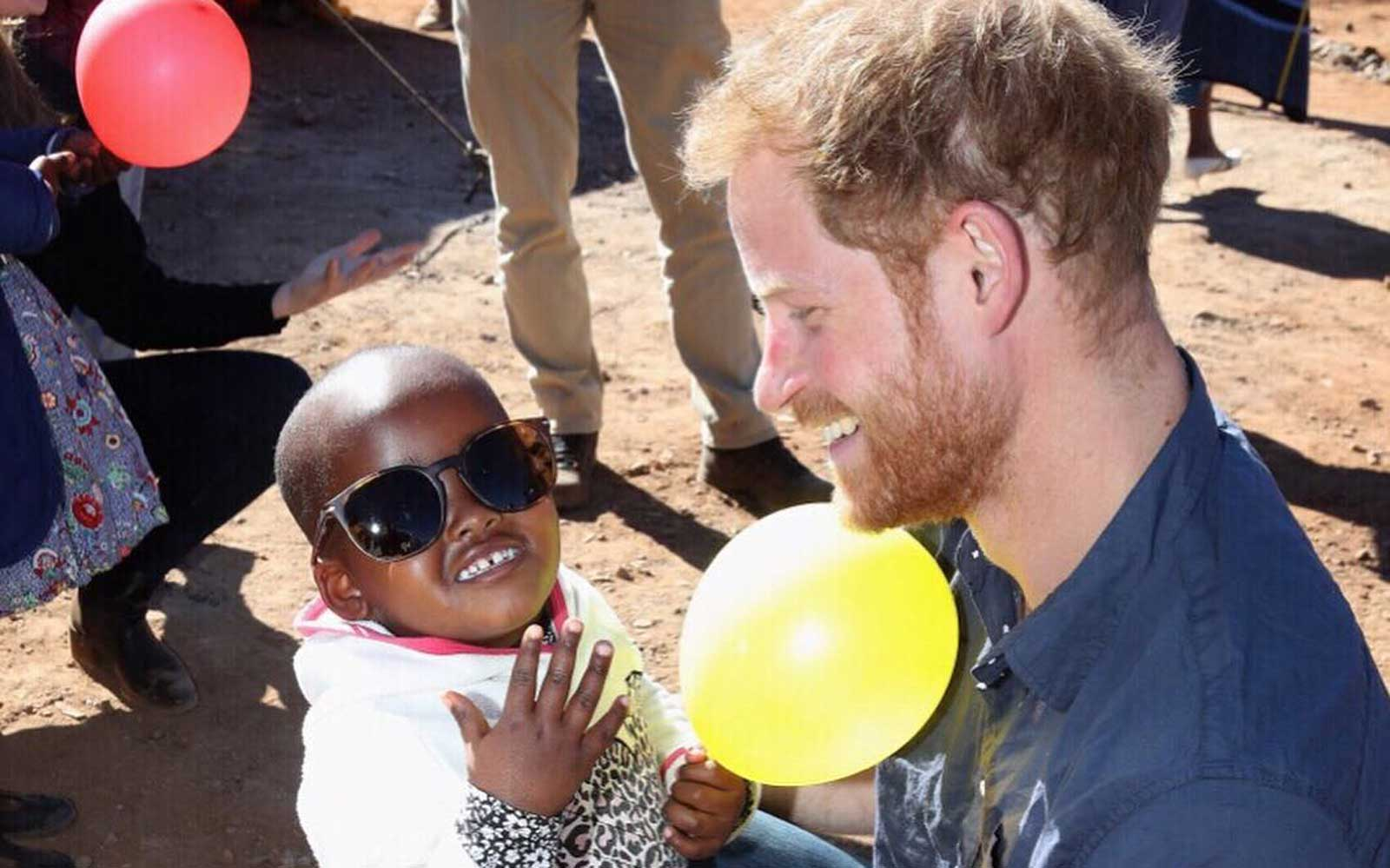 Prince Harry Took a Secret Trip to Africa and We Finally Have Photos