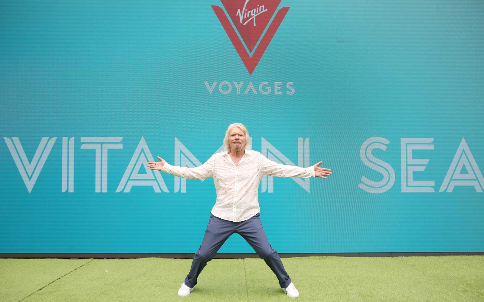 Virgin Voyages Unveils Vitamin Sea with Sir Richard Branson