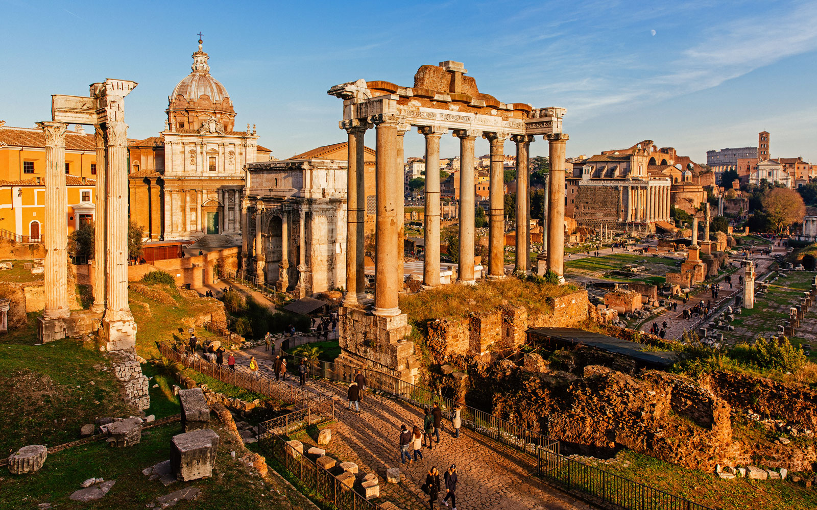 Take a flight to Rome, Italy, this fall or winter for under $400 round-trip.