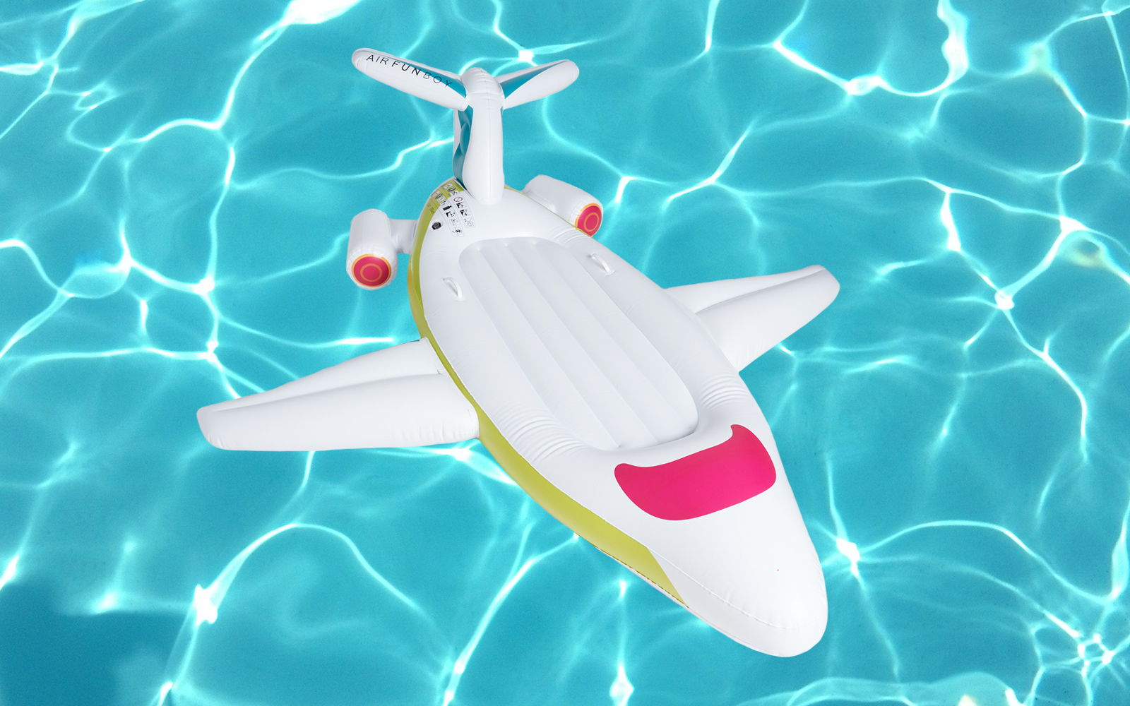 You Can Get Your Own Private Jet (Pool Float) for 50% Off Right Now