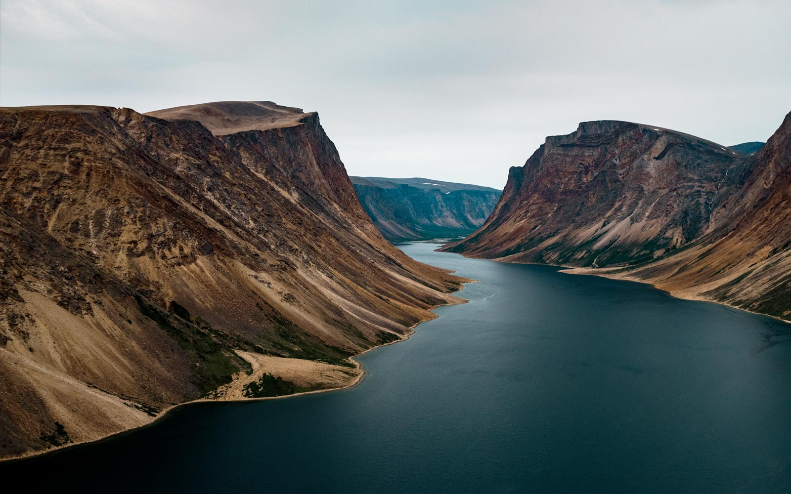 Torngat Mountains National Park, in northeastern Canada