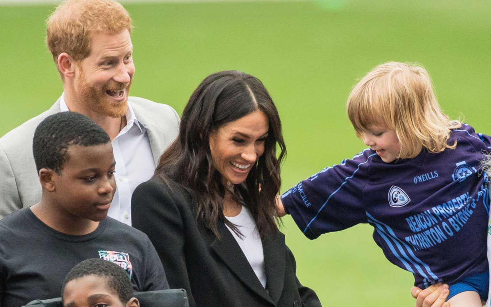 This Toddler Couldn't Get Enough of Meghan Markle and Prince Harry Secretly Loved It