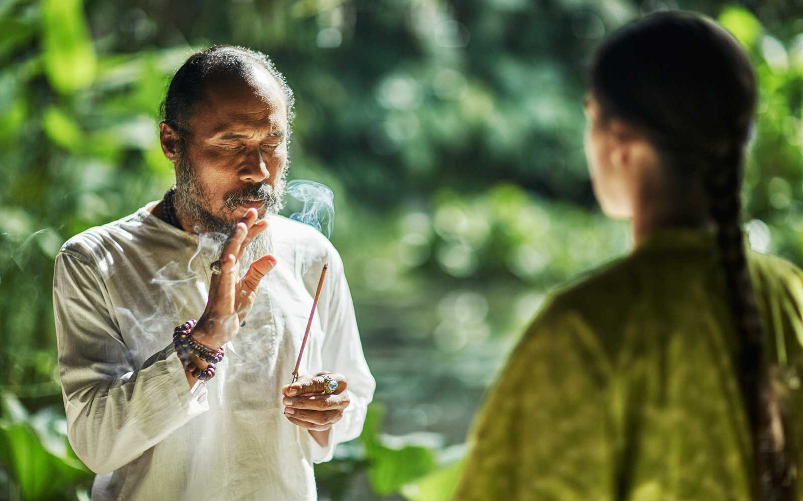 Balinese Energy Healer at the Four Seasons Bali at Sayan