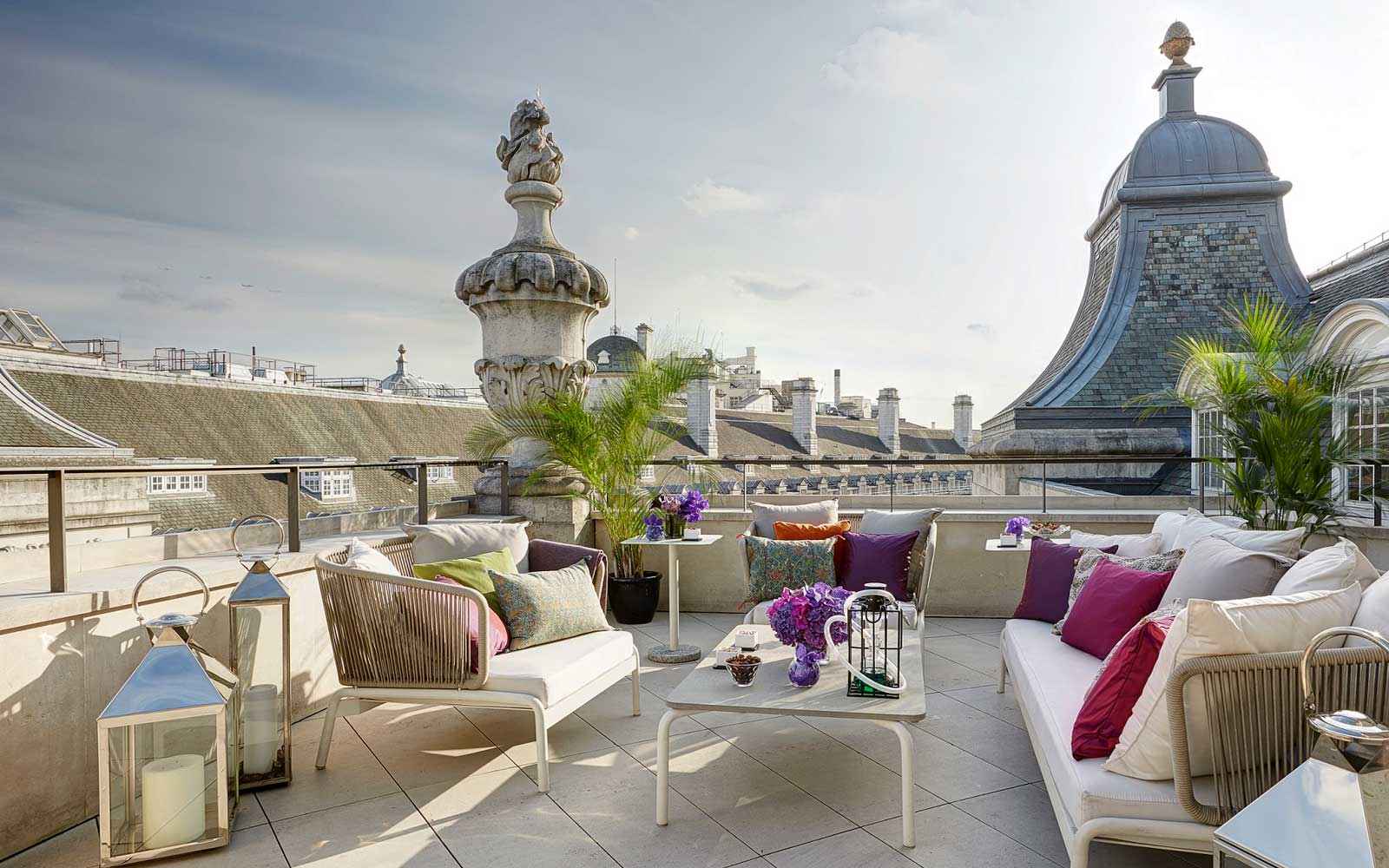 Hotel Cafe Royal Dome Penthouse Terrace