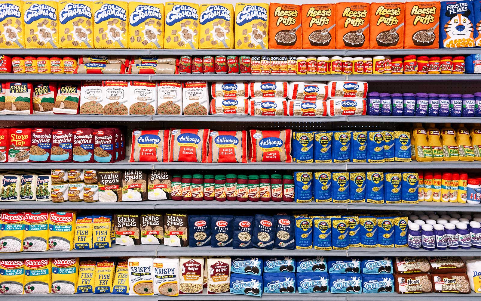 This Los Angeles Grocery Store Has 31,000 Items — and They're All Made of Felt