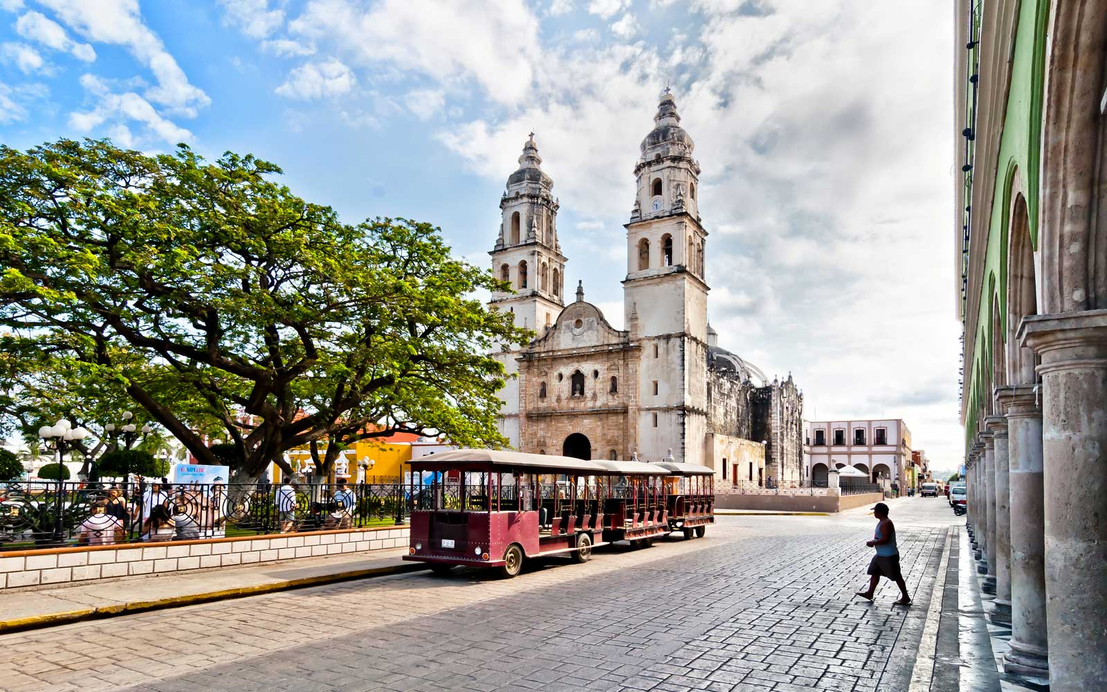 Campeche, Mexico was founded in 1540 by Spanish conquistadores as San Francisco de Campeche atop the pre-existing Maya city of Canpech.