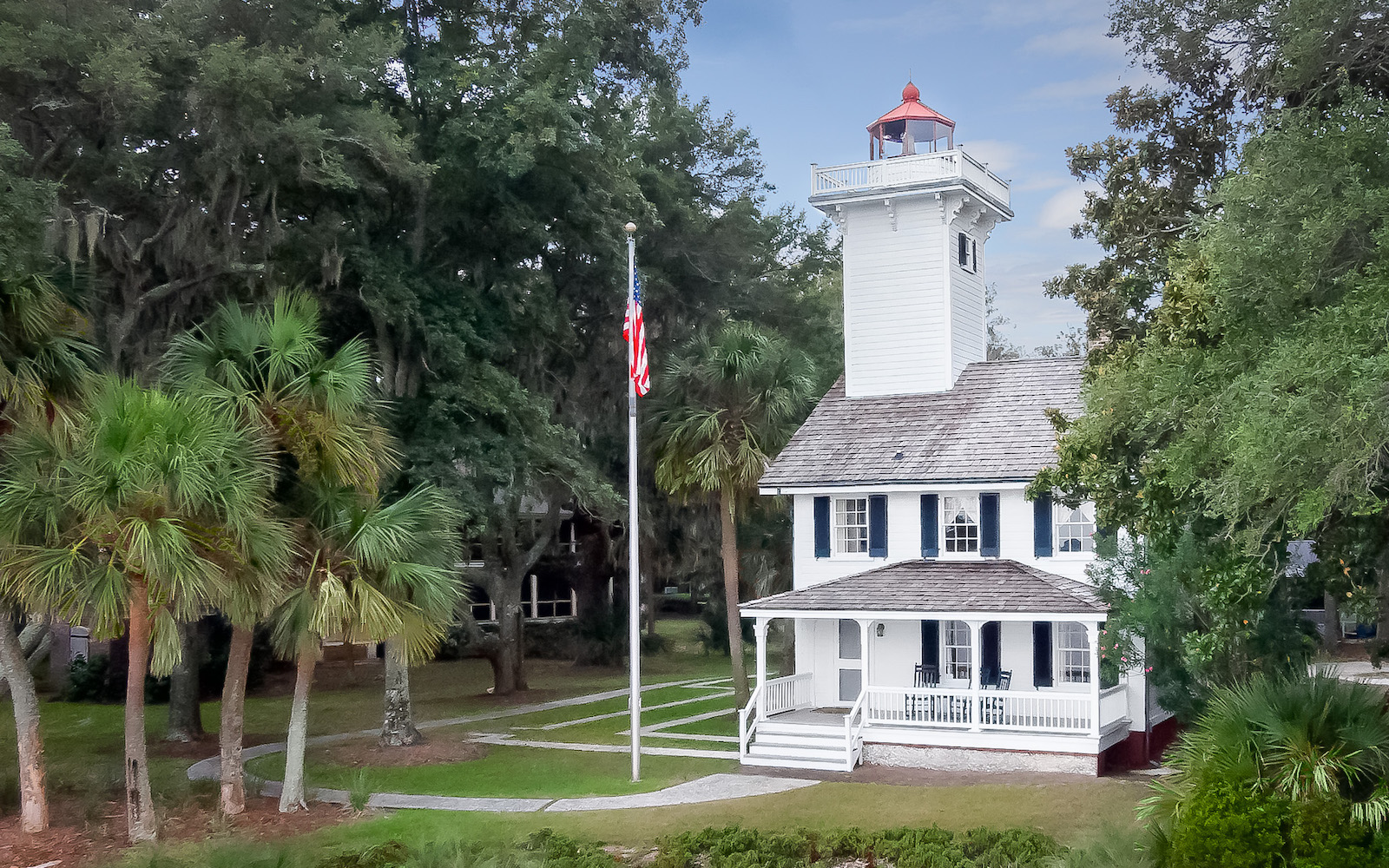 Haig Point Lighthouse Daufuskie Island South Carolina