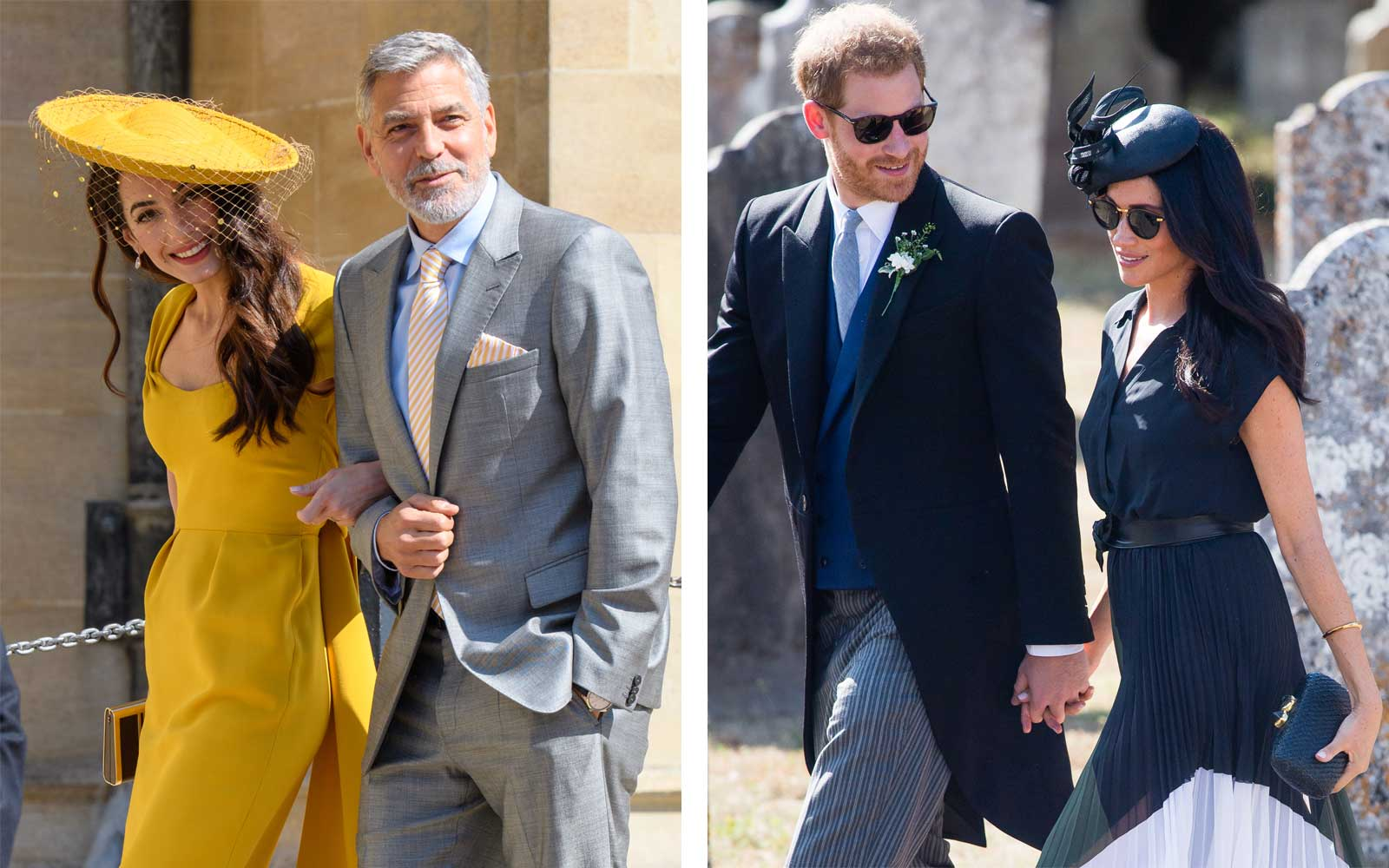 Prince Harry and Meghan Markle Took a Secret Vacation With George and Amal Clooney