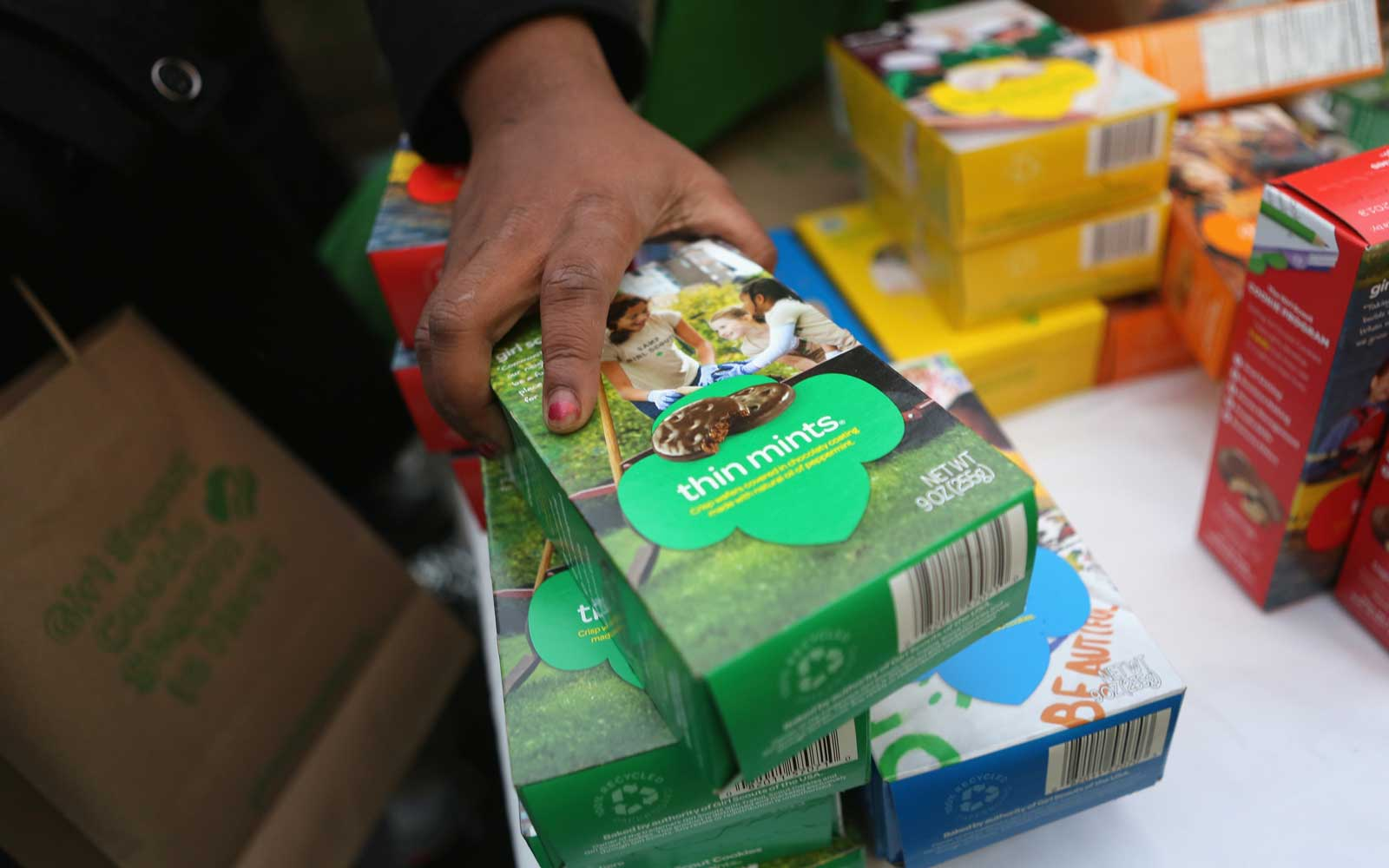 There's a brand new girl scout cookie flavor — and it's gluten-free