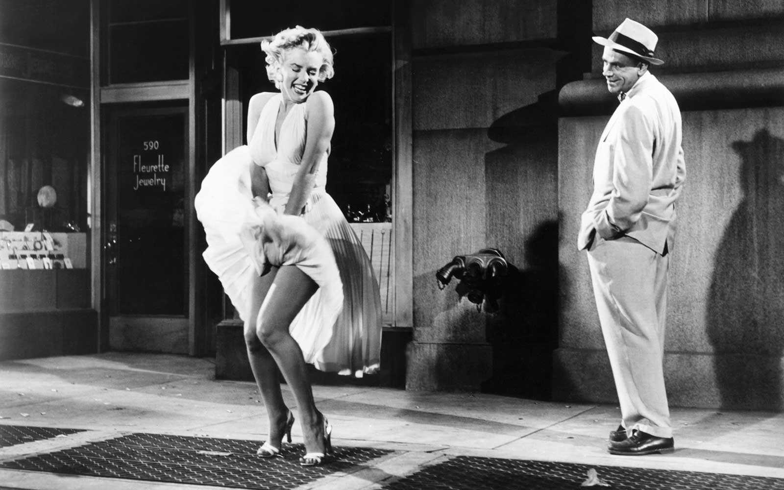 This Is Your Last Chance to See Marilyn Monroe's White Dress Before It's Sold at Auction