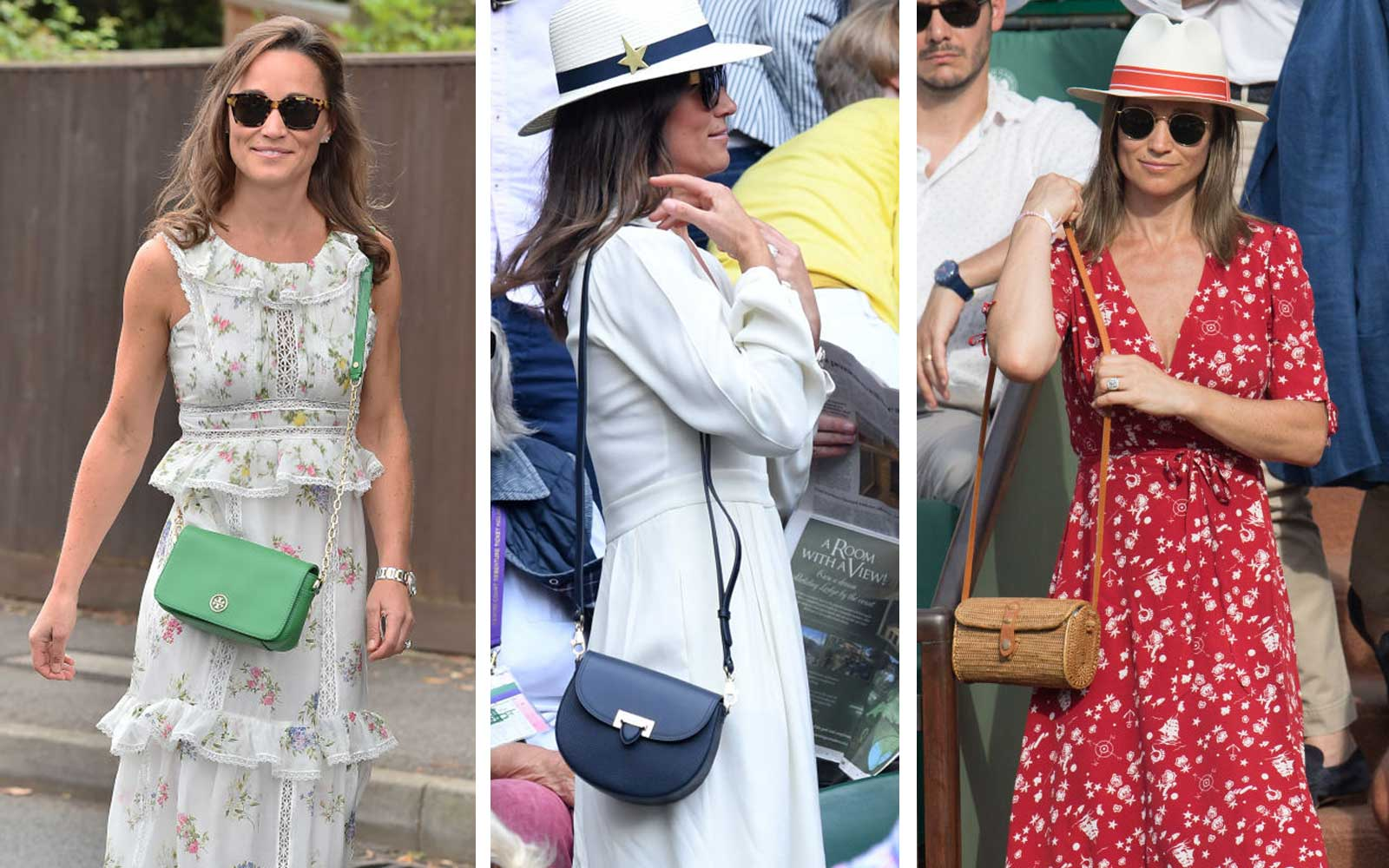 Pippa Middleton at Wimbledon and the French Open