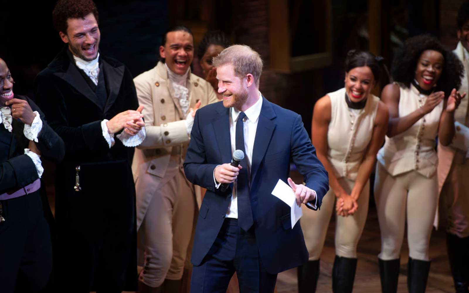 The Duke & Duchess Of Sussex Attend A Gala Performance Of  Hamilton  In Support Of Sentebale