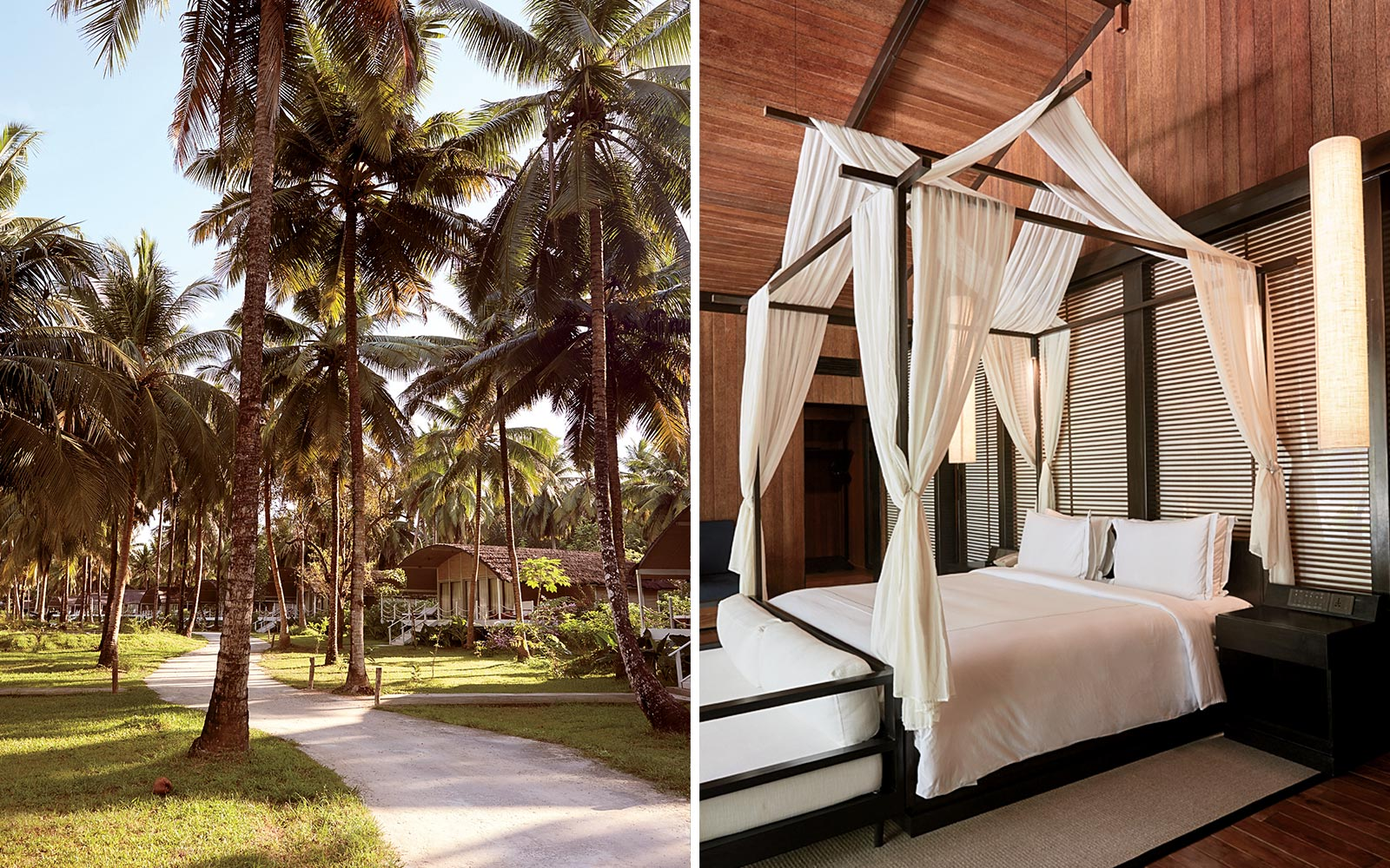 The Taj Exotica resort in the Andaman Islands