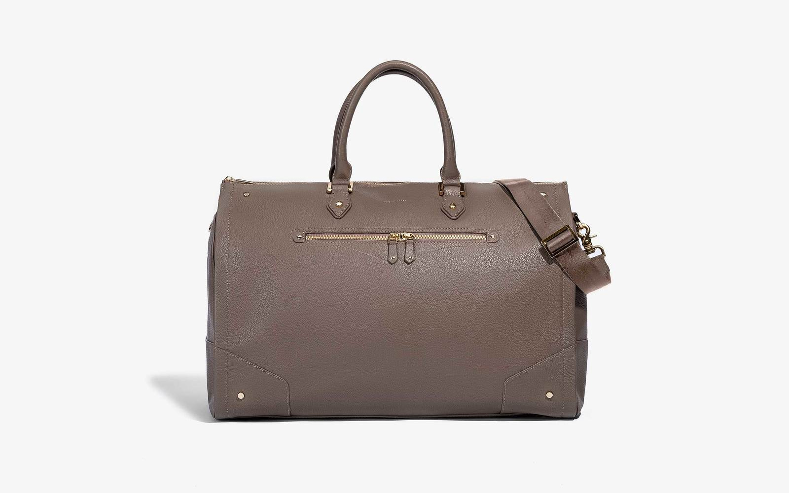 This 2-in-1 Leather Duffle and Garment Bag Will Keep Your Outfits ... 0f0af48443cdc