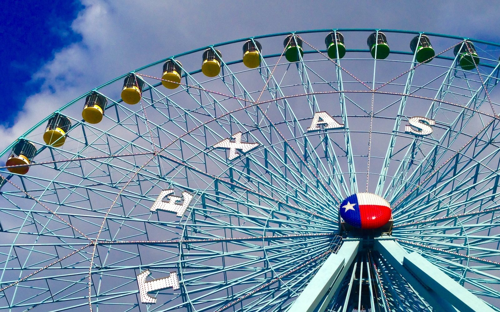 Texas Star Ferris wheel. Texas State Fair. Dallas Texas
