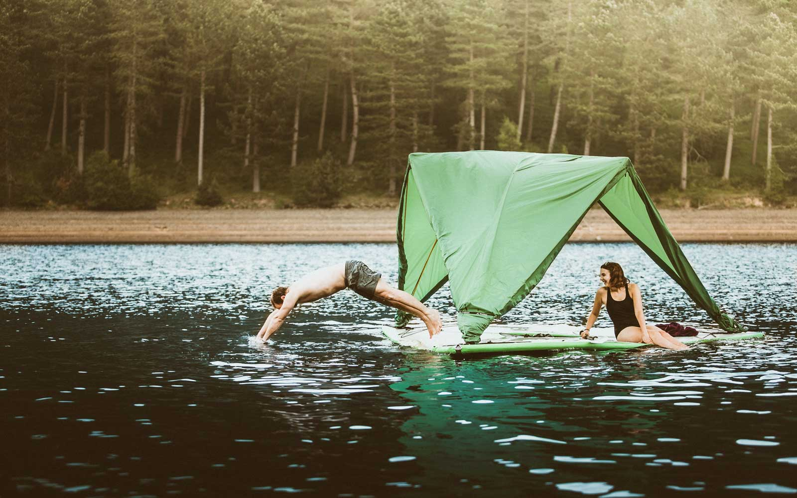 This Camping Company Is Coming Out With a Tent That Can Float on Water