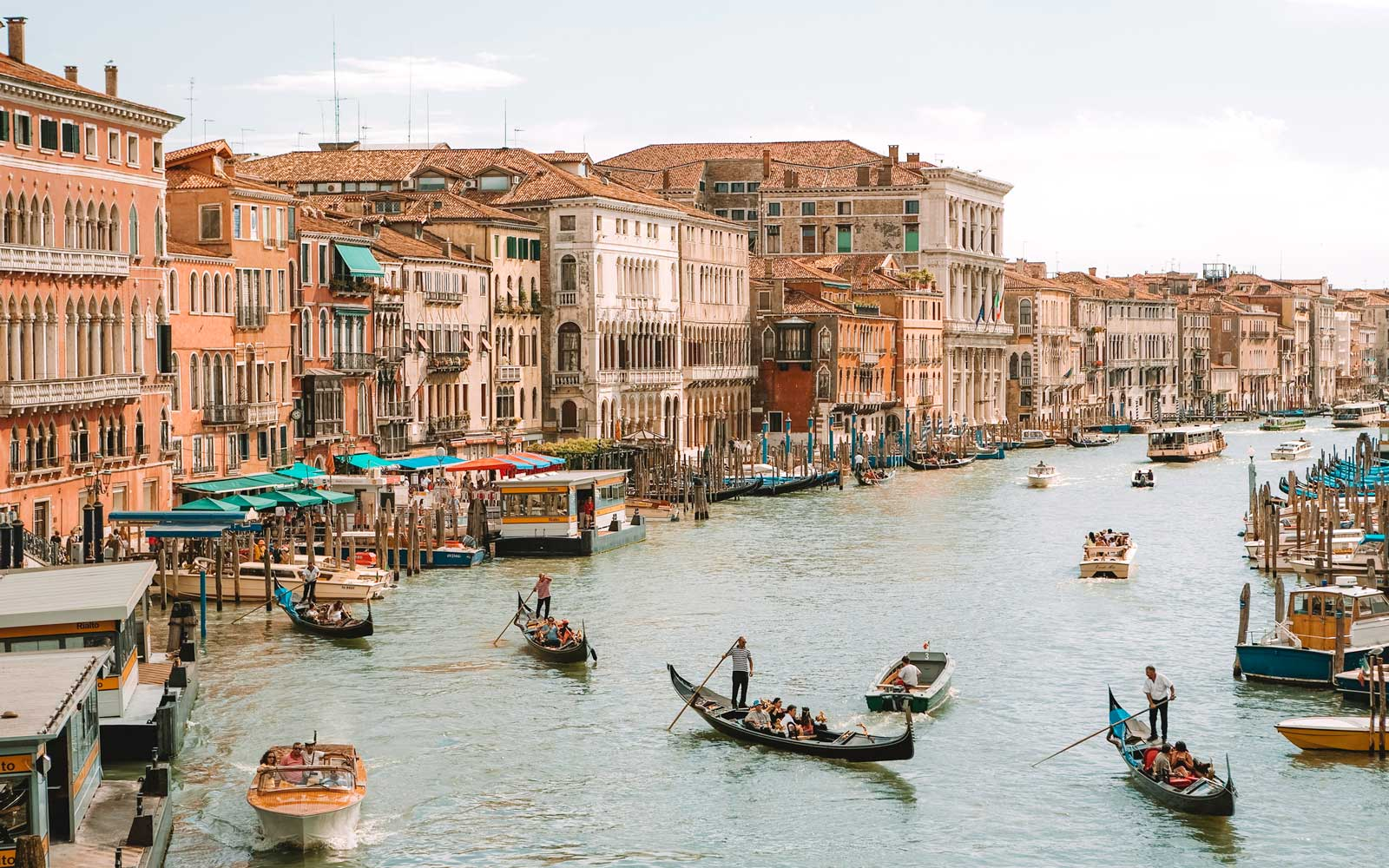 Venice Is Banning Kayaks, Canoes, and Other Boats From the Grand Canal