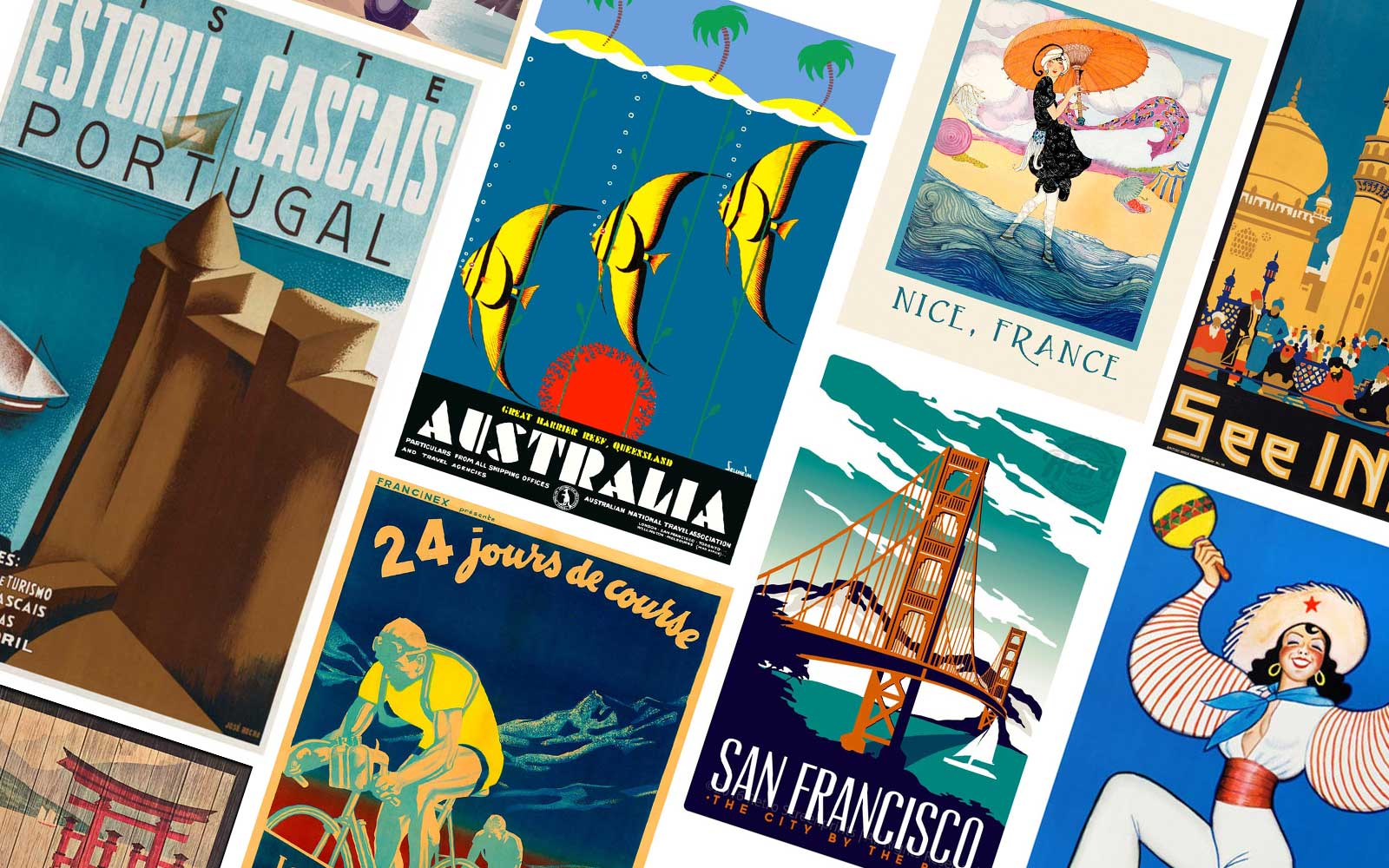 Best Vintage Travel Posters