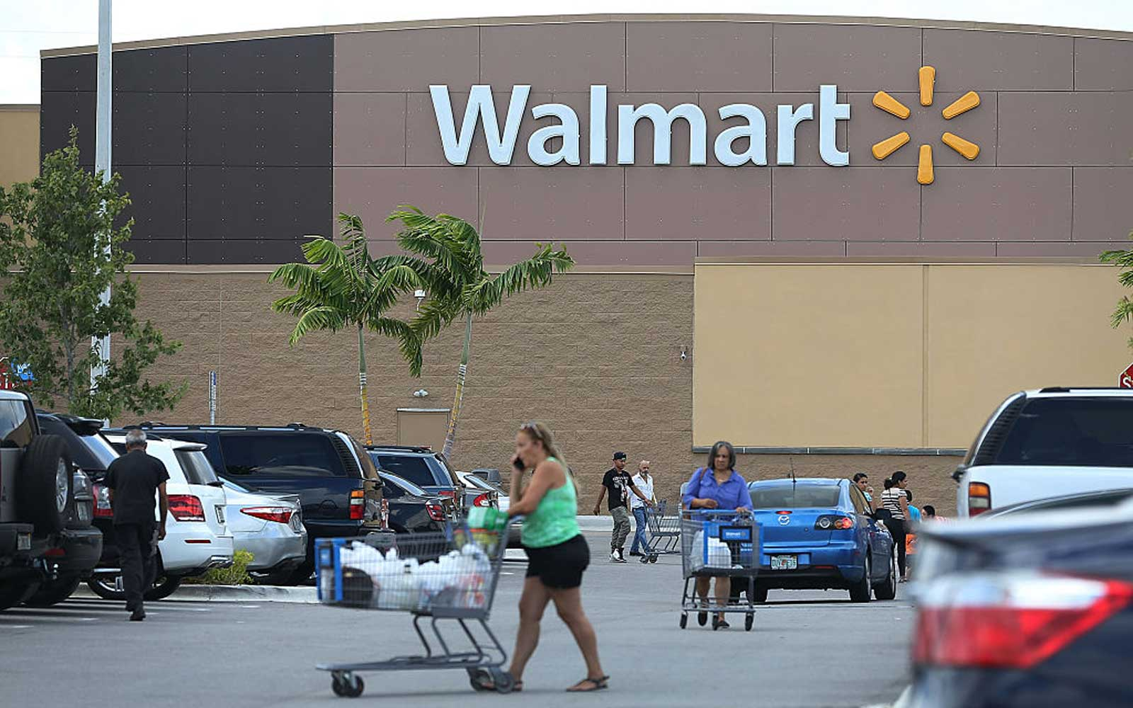Walmart store in Miami, Florida