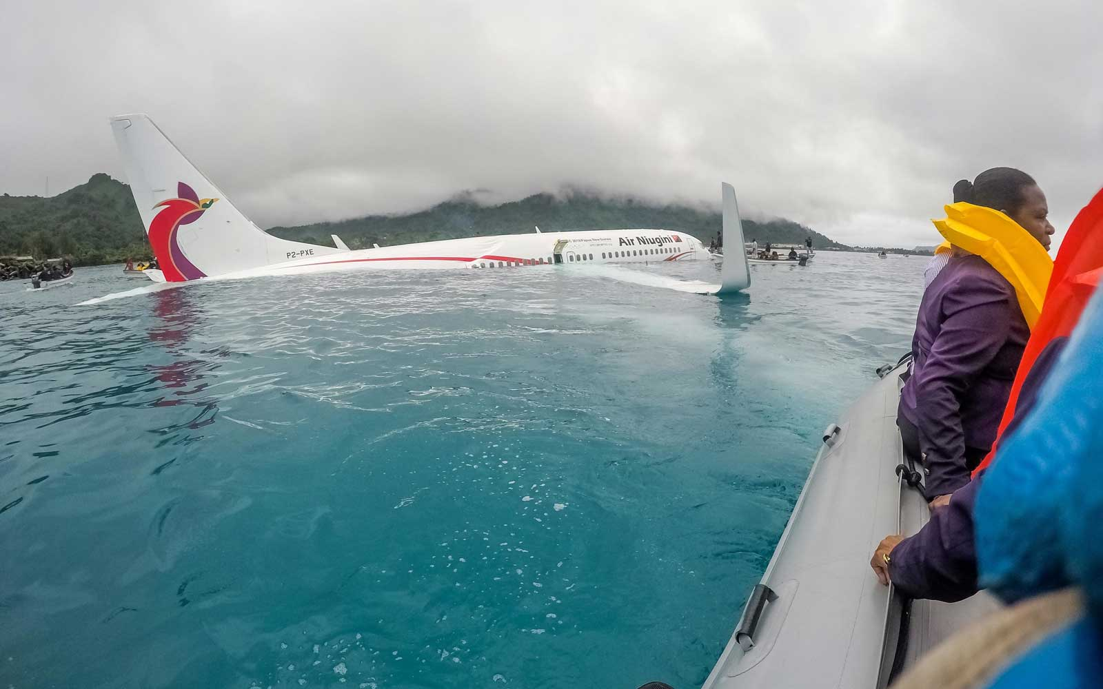 Plane Misses Runway in Papua New Guinea and Crashes Into Lagoon