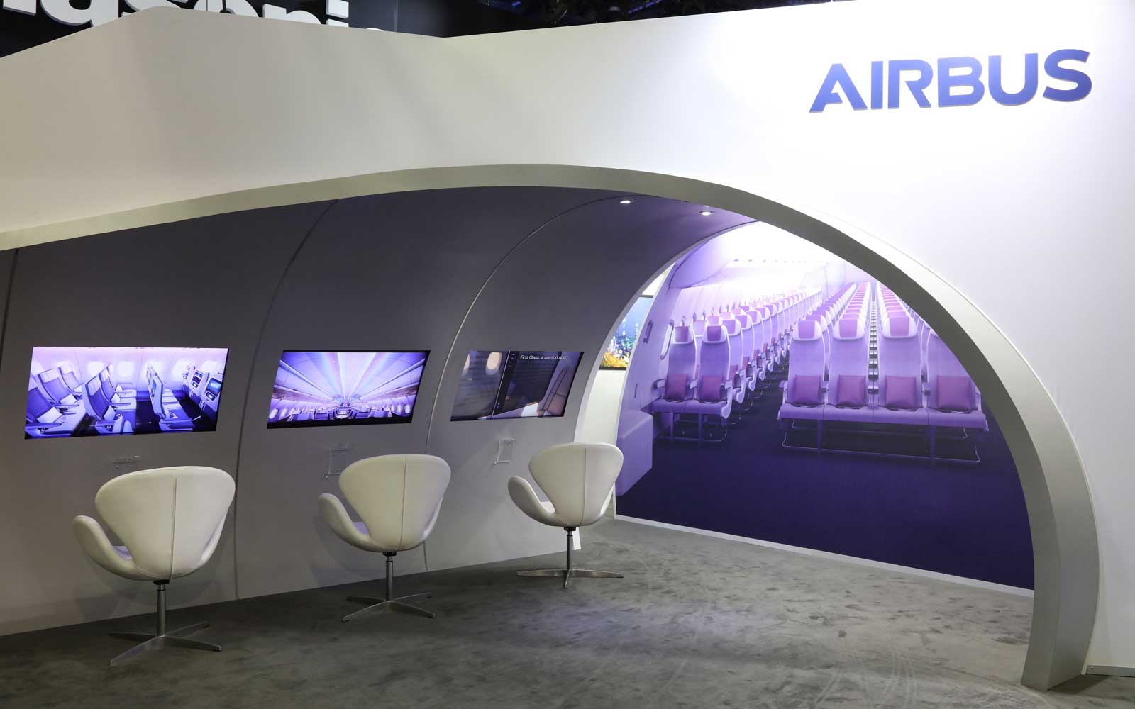 Airbus unveils Connected Cabin Technology at APEX Expo 2018