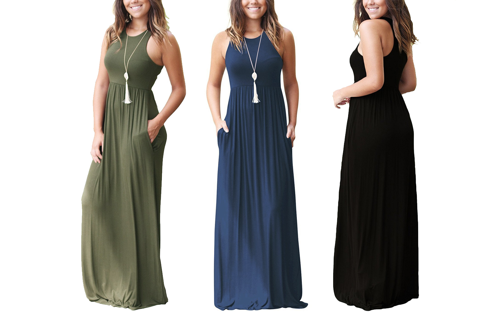 Amazon Best-seller Travel Maxi Dress
