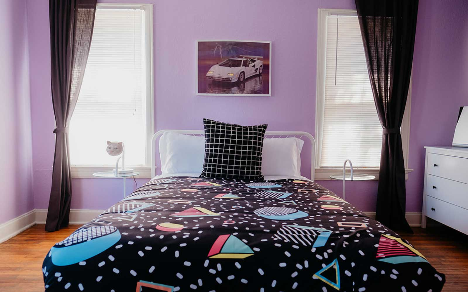 Travel Back to the '80s at This Marty McFly-themed Airbnb