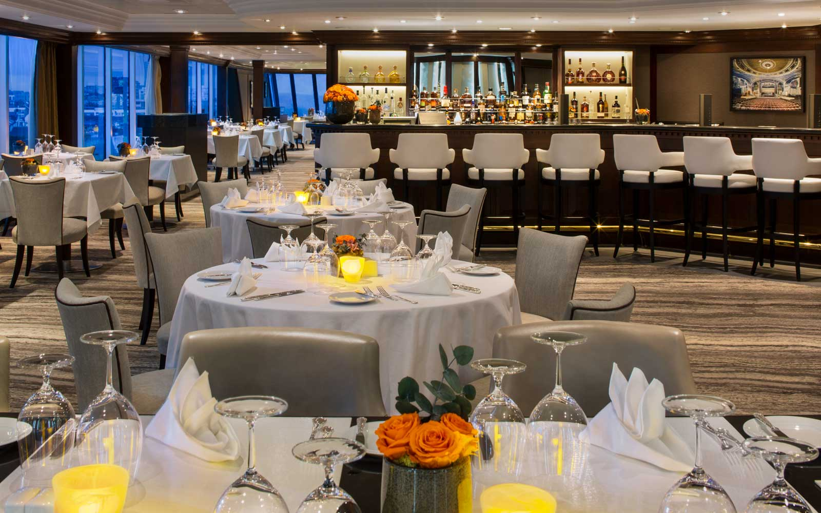 Prime restaurant on board the Azamara Pursuit