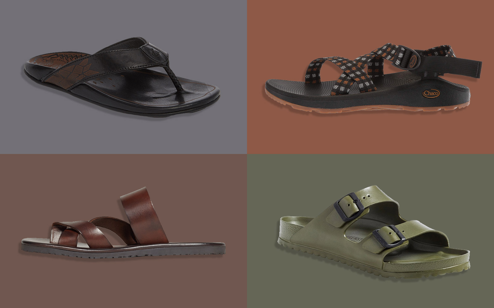 The Best Men's Sandals to Pack for Your Next Vacation
