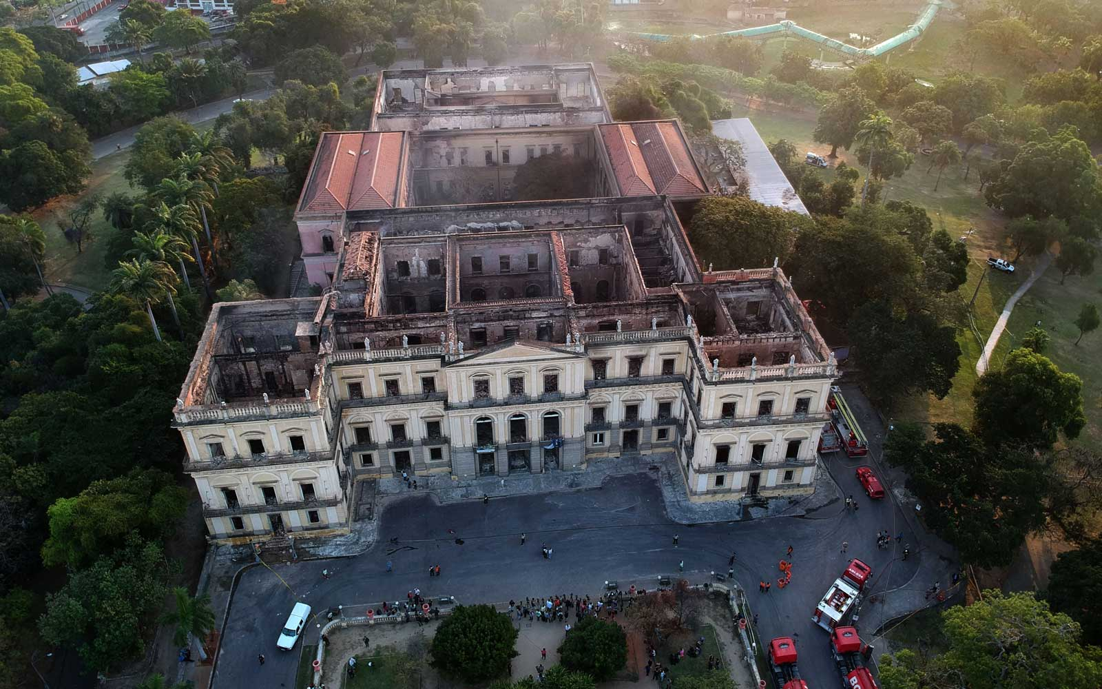 Brazil's National Museum Fire Potentially Destroyed Millions of Priceless Artifacts
