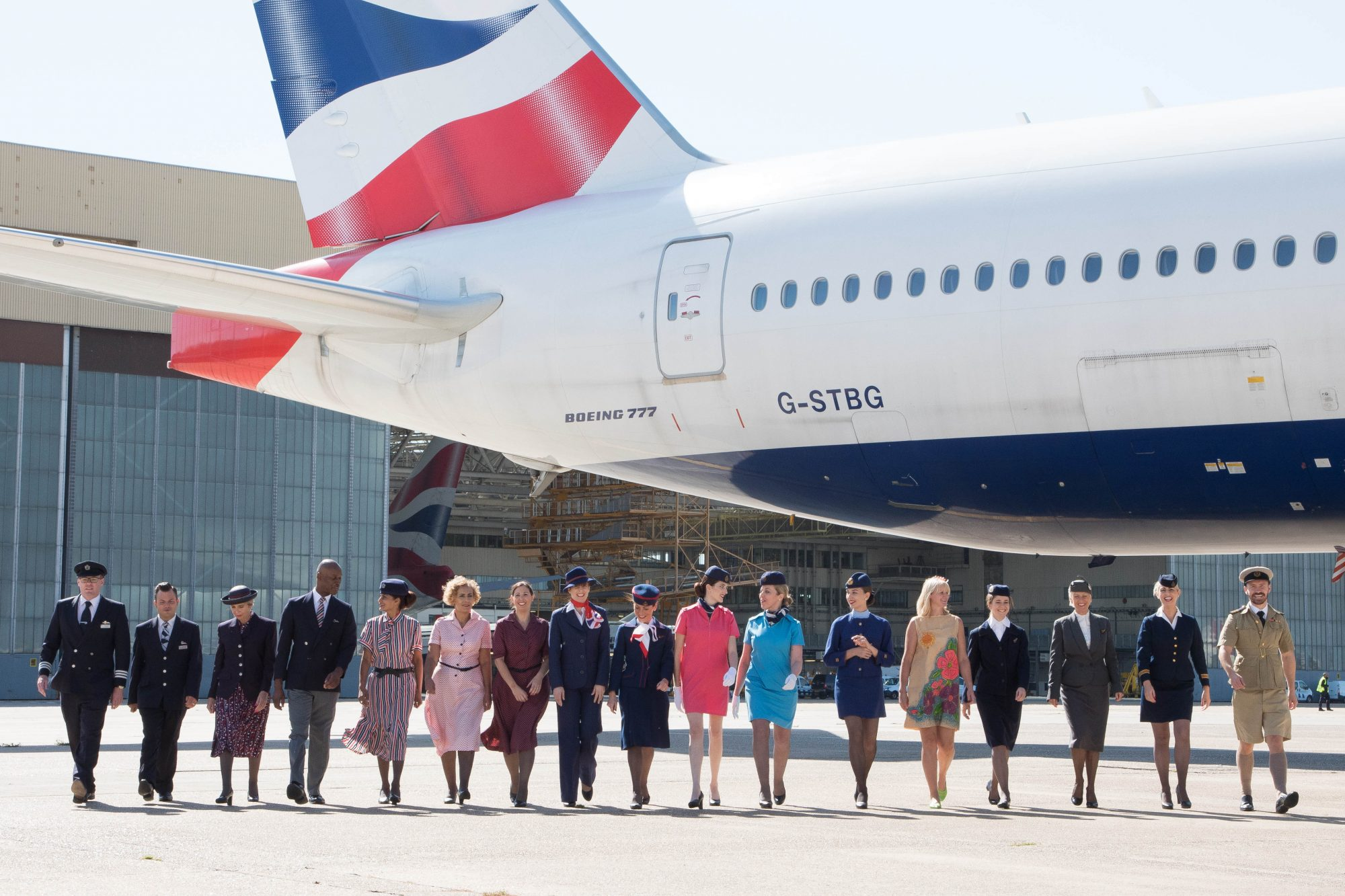 British Designer Ozwald Boateng Is Designing New Uniforms for British Airways