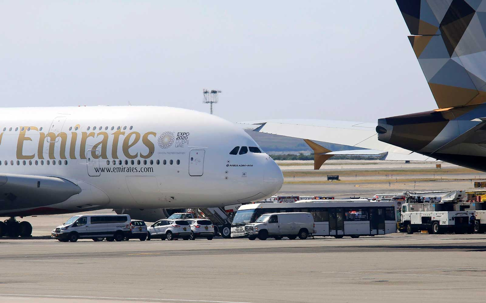 Emirates Flight Quarantined in New York City, Passengers Hospitalized After Getting Sick